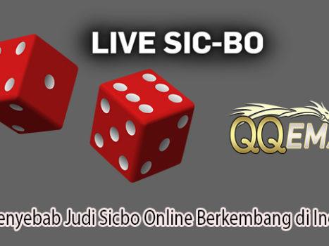 Inilah Penyebab Judi Sicbo Online Berkembang di Indonesia